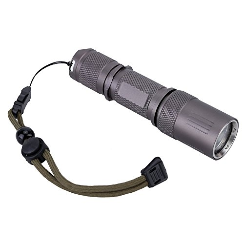 Goldenguy IPX-7 Cree XM-L2 LED 5 Mode 1200 Lumen Mini Portable Tactical Handheld Flashlight Torch for Camping Cycling Hiking Hunting Diving