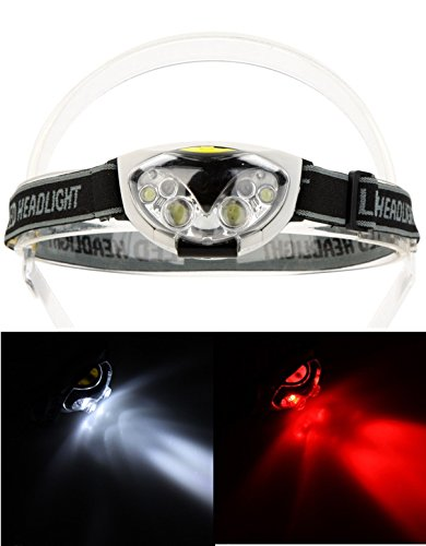 Brilliant Modern 6x LED 1200 Lumens Headlamp Waterproof Lights Cycling Bicycle Lamp Headlight Camping Color Black