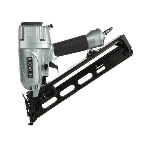 Hitachi NT65MA4 15-Gauge 2-12 in Angled Finish Nailer Kit Certified Refurbished