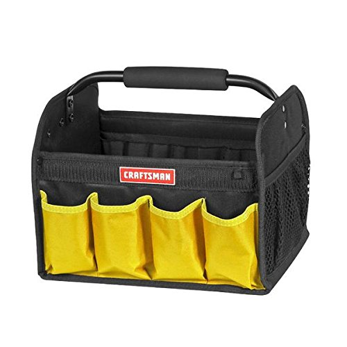 Craftsman 12 in Tool Tote - Yellow