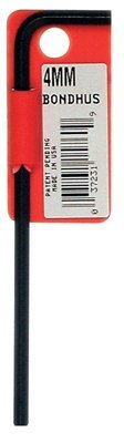 Bondhus 15978 11mm Hex Tip Key L-Wrench with ProGuard Finish Tagged and Barcoded Long Arm