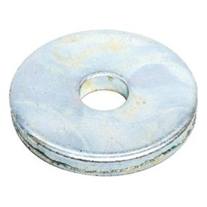 DrillSpot 12 x 2 x 0250 Thick Zinc Finish Extra Heavy Fender Washer