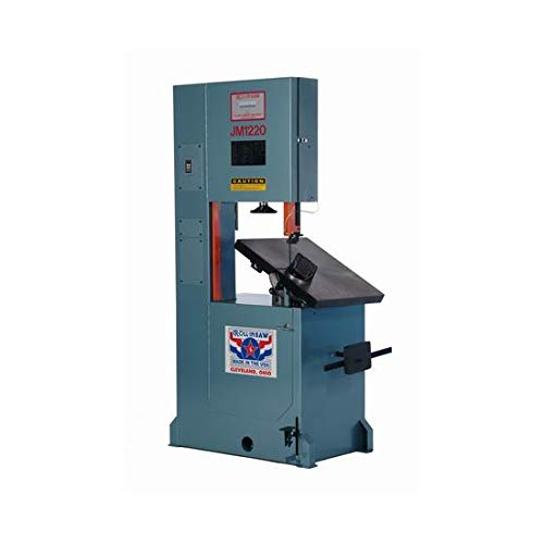 Roll-In Saw JM1220 440V 3PH 12-Inch by 20-Inch American Tilt Table Journeyman Vertical Band Saw