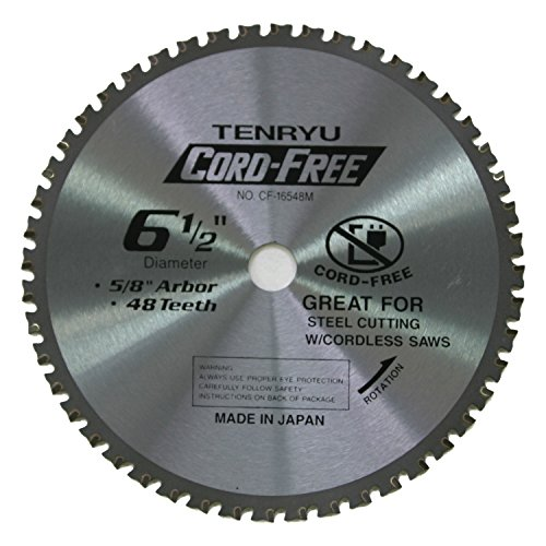 Tenryu CF-16548M 6-12 Carbide Tipped Saw Blade  48 Tooth MTCG Grind - 58 Arbor - 0079 Kerf